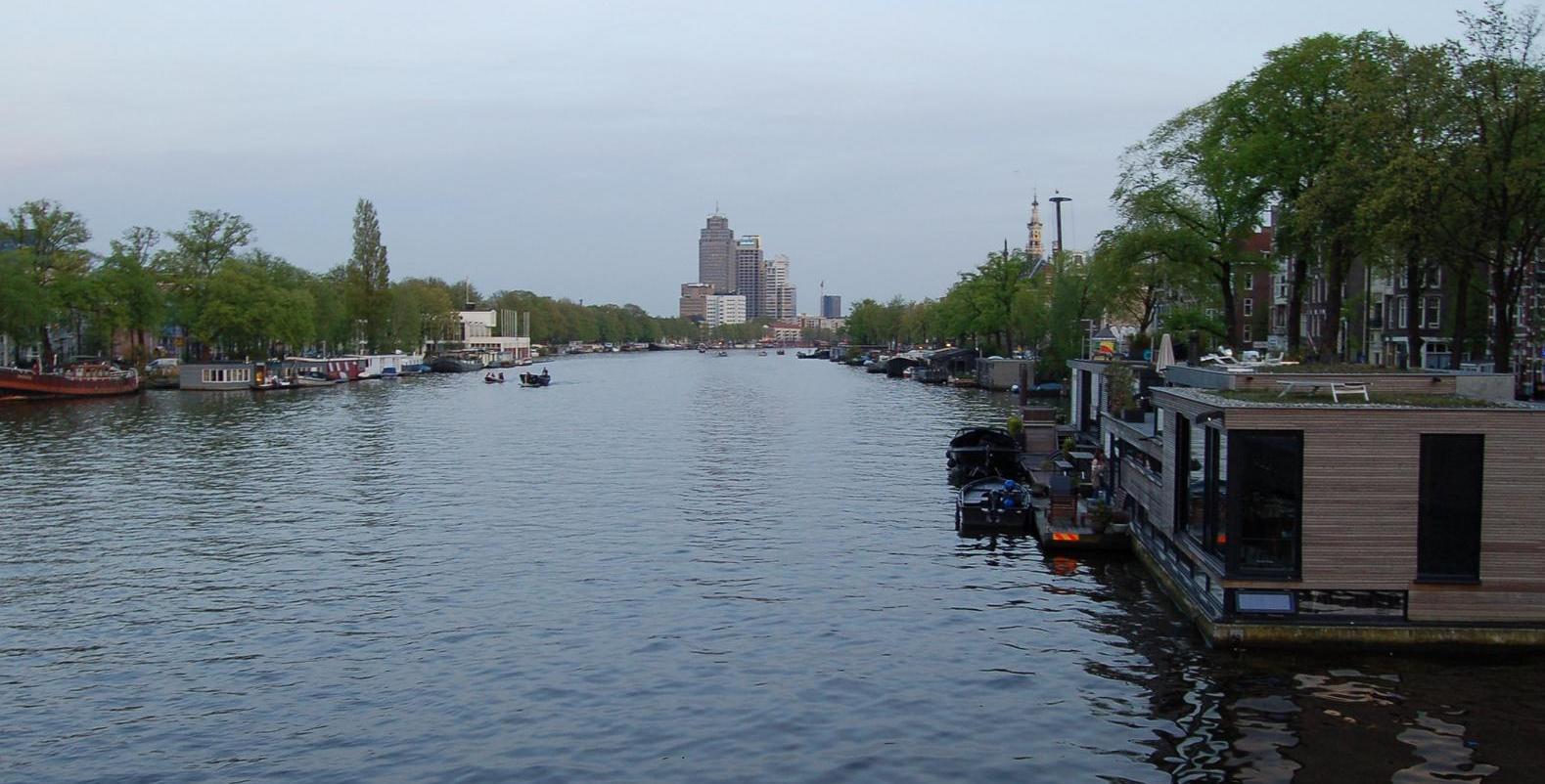 Boot fahren in Amsterdam